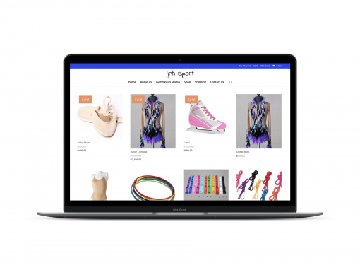 Online Shop for Kids Gymnastics