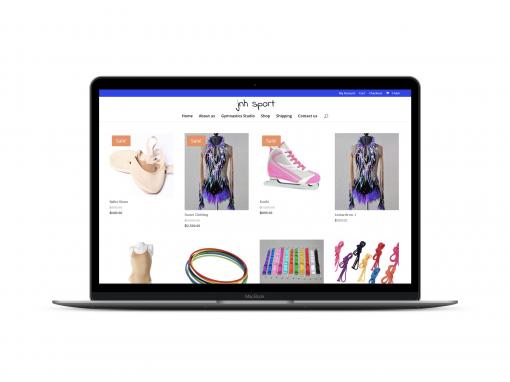 Online Shop for Kids Gymnastics